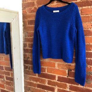A&F Royal Blue Knit Sweater
